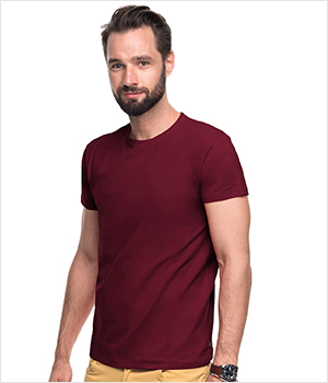 T-shirt PROMOSTARS Slim men 200G