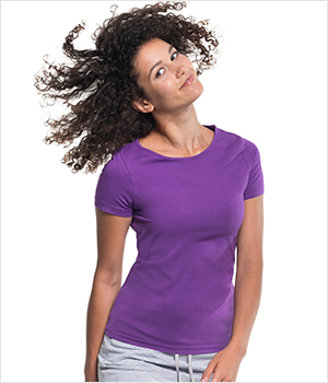 T-shirt PROMOSTARS Slim ladies 200G