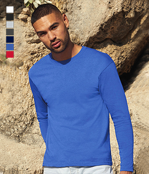 T-shirt Fruit of the loom Long Sleeve T men 145G