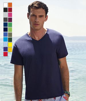 T-shirt Fruit of the loom Original V-Neck T 145G