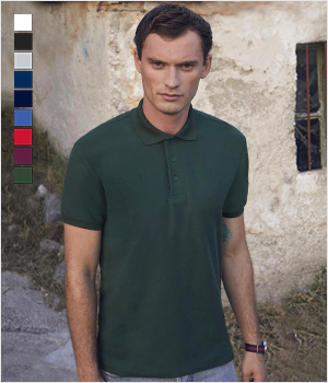 Koszulka Fruit of the loom Polo Heavyweight 65/35 230G