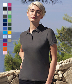 Koszulka Fruit of the loom Polo Ladies Premium 170G