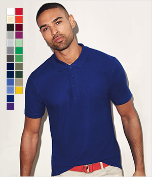 Koszulka Fruit of the Loom polo Iconic men 180G